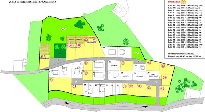 Terreno residenziale Sant`Ippolito --